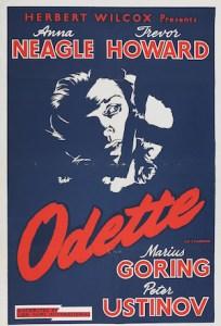 Odette (1950) affiche