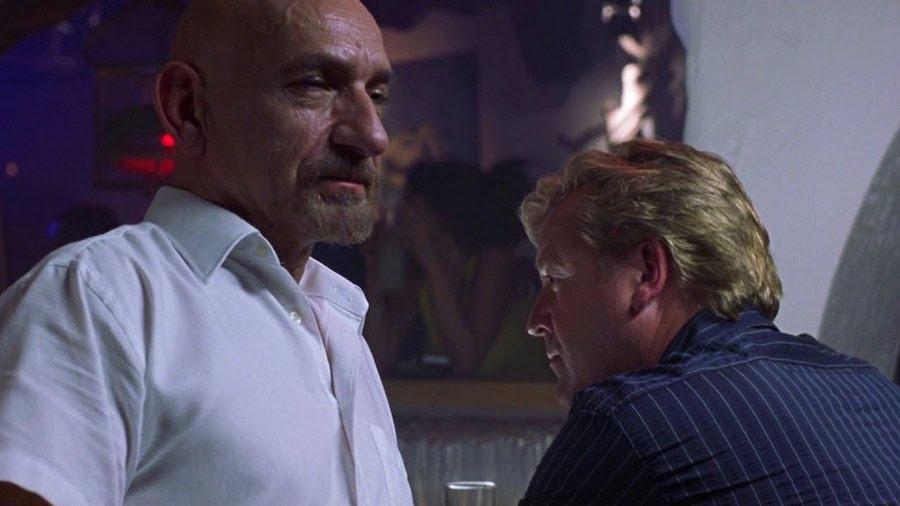 Ben Kingsley et Ray Winstone dans Sexy Beast (2000)