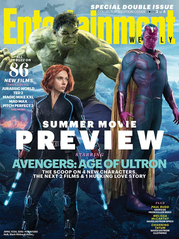 Avengers: Age of Ultron - Cover 3