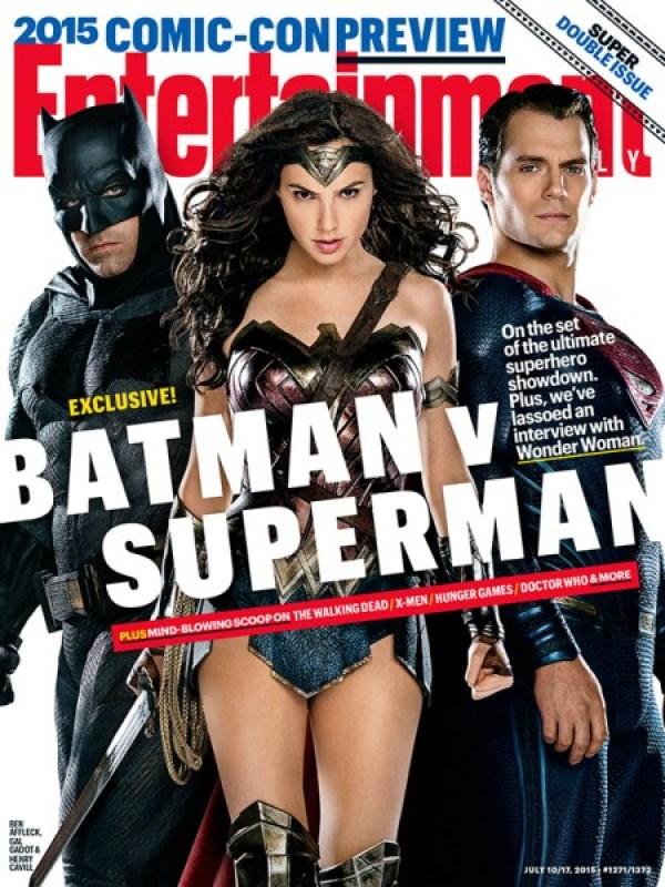 Batman V Superman: Dawn of Justice - Portada