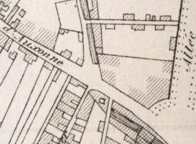 Plan des alentours de la salle Foveau (1885)