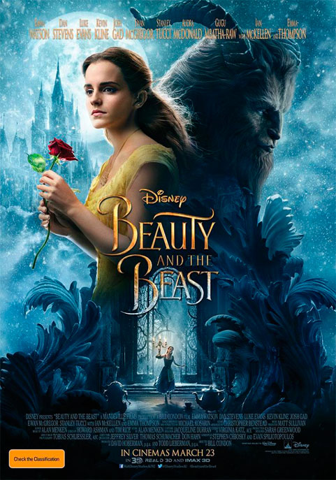 Beauty and the Beast 2017 Poster (Cinema News Digest)