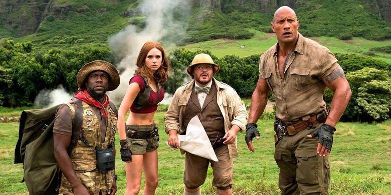 Jumanji Welcome to the Jungle 2017