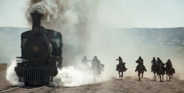 Una scena del film The Lone Ranger