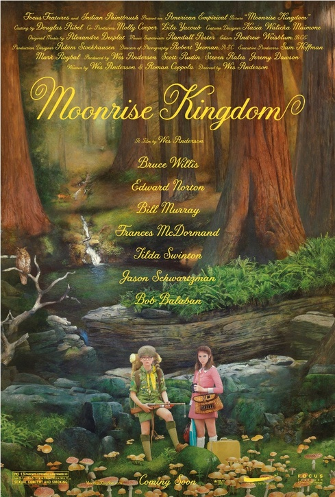 Movie Review: Wes Anderson's Moonrise Kingdom