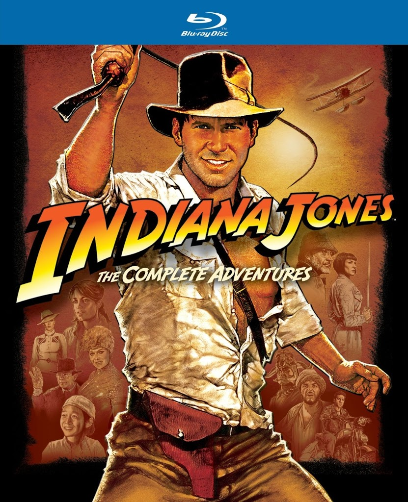 Blu-ray Review: Indiana Jones: The Complete Adventures