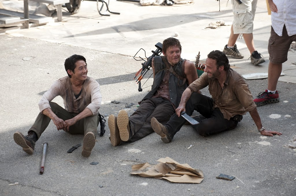 Cool News of the Day: The Walking Dead Season 3 Behind the Scenes Photos!