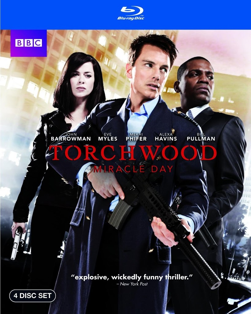 Blu-ray Review: Torchwood - Miracle Day