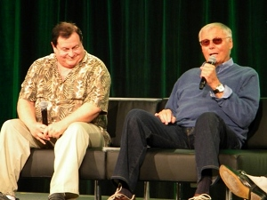 The original dynamic duo = Adam West and Burt Ward at Emerald City ComiCon 2013