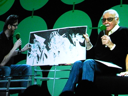 Stan Lee J Campbell Scott Star Wars Art ECCC 2015