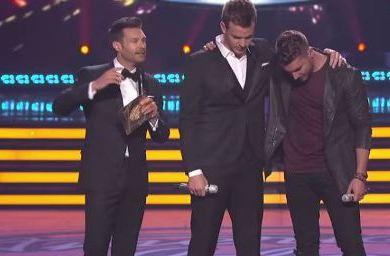 American Idol Fianle Ryan Nick Clark