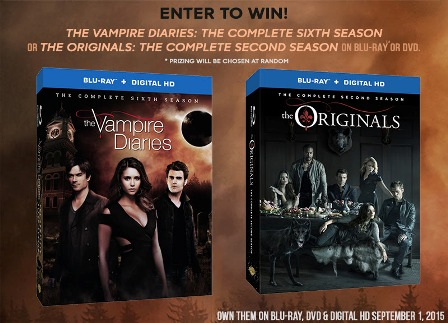 Vampire Diaries Originals giveaway