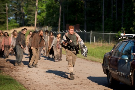 Michael Cudlitz as Abraham - The Walking Dead _ Season 6, Episode 1 - Photo Credit: Gene Page/AMC