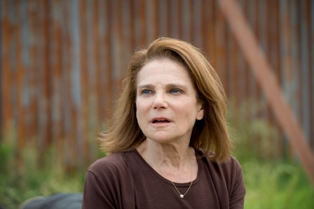 Tovah Feldshuh as Deanna Monroe - The Walking Dead _ Season 6, Episode 2 - Photo Credit: Gene Page/AMC