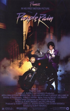 purple rain movie poster (242x380)