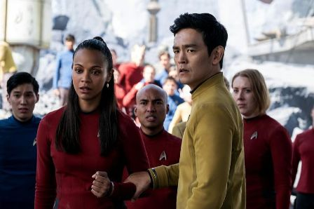 Star Trek Beyond Uhura Sulu