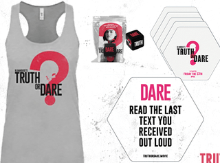 OVER Giveaway: Blumhouse's Truth or Dare - Game Night Prize Pack