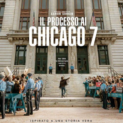 Il processo ai Chicago 7. Leggi la recensione di cinemando del film Netflix di Aaron Sorkin con Eddie Redmayne, Sacha Baron Cohen e Joseph Gordon-Levitt