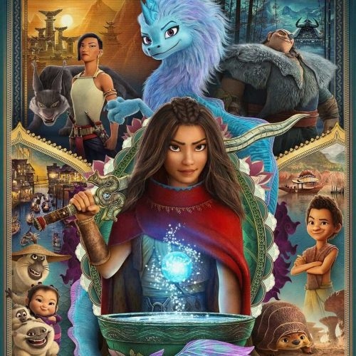 Raya e l'ultimo drago. Leggi la recensione di cinemando del 59° classico Disney, disponibile in Accesso VIP su Disney+.
