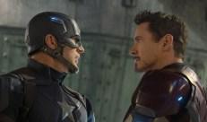 Chris Evans y Robert Downey Jr - Captain America Civil War