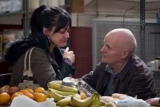 Hayley Squires y Dave Johns en 'I, Daniel Blake'