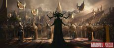 Marvel's Thor Ragnarok concept art