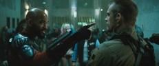 Will Smith y Joel Kinnaman en Suicide Squad.