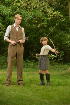 Domhnall Gleeson y Will Tilston - Alan Milne Biopic