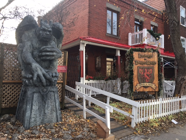 L'auberge du Dragon Rouge