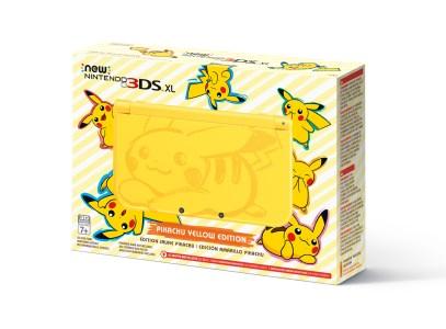 New 3DS XL_edition jaune Pikachu