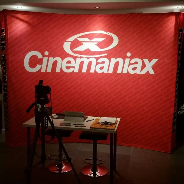 cinemaniax booth