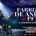 Banner Modale Fabrizio De André e PFM – Il concerto ritrovato