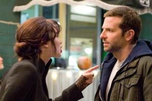Bradley Cooper et Jennifer Lawrence dans Silver Linings Playbook (2012)