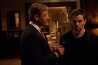 Russell Crowe et Mark Wahlberg dans Broken City (2013)