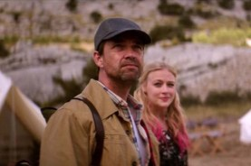 Dougray Scott et Elen Rhys dans The Rezort (2015)
