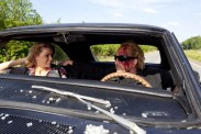Nicolas Cage et Amber Heard dans Drive Angry (2011)