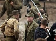 Logan Lerman (Corações de Ferro) - photo by cine.gr