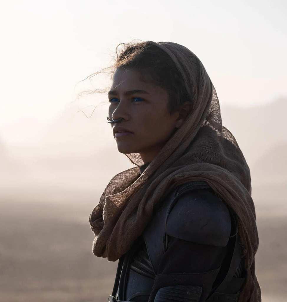 Zendaya actua en la película de Dune