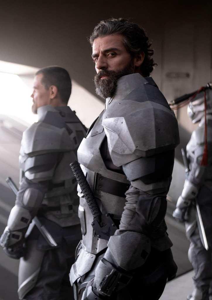 El actor Oscar Issac participa en la película de Dune