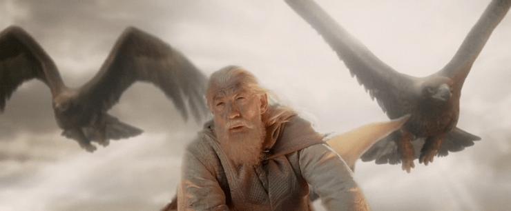El eucatástrofe en El señor de los anillos