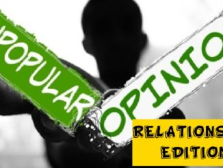 relationship opinions