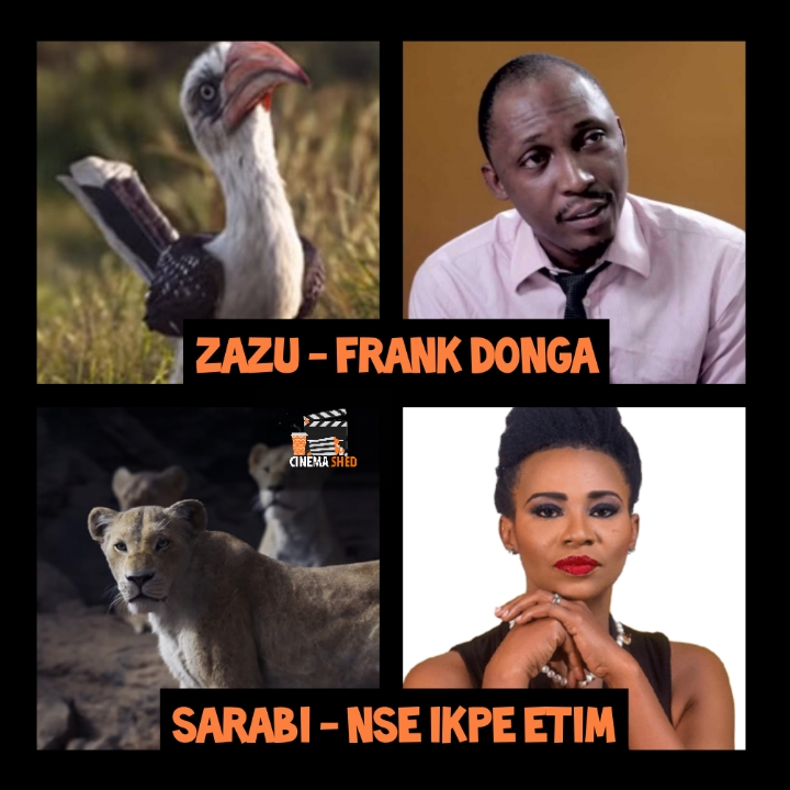 the lion king nollywood cast