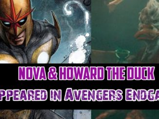Nova and Howard the Duck in Endgame