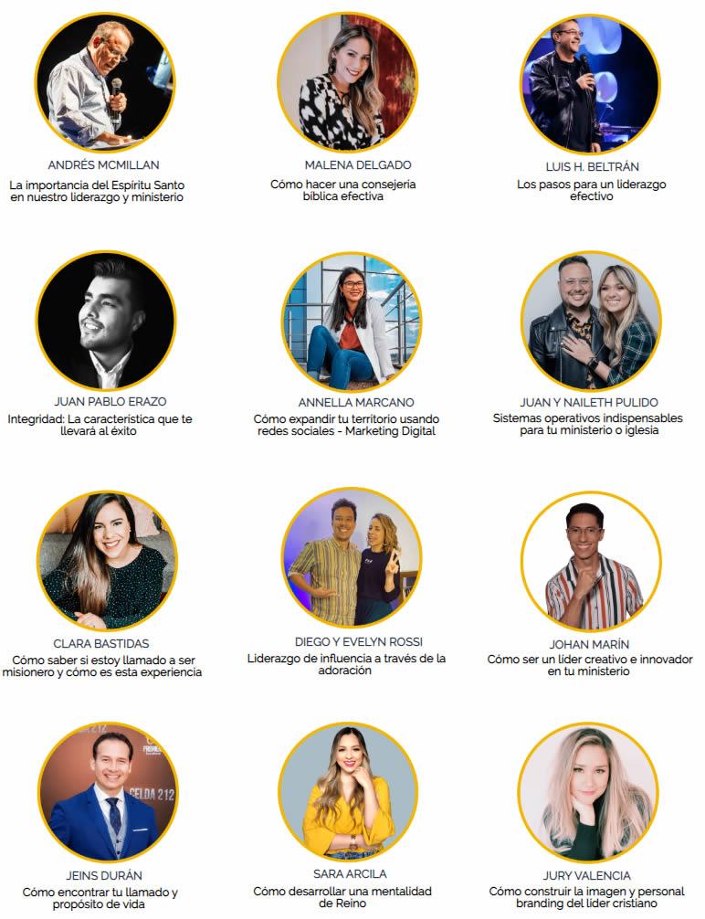 líderes cristianos cumbre virtual