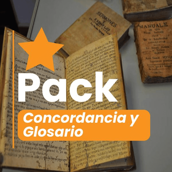 The best pack concordancia y glosario