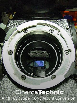 CinemaTechnic PL mount for ARRI 16SR