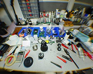 CinemaTechnic workbench 2002