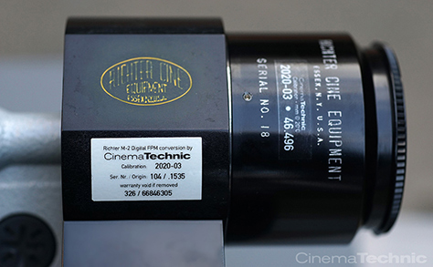 Richter Cine Nikon F Lens Standard on a M-2 Digital FPM
