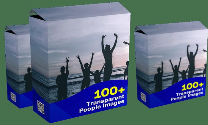Box 100 People Transparant