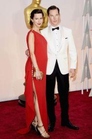 Benedict Cumberbatch z żoną